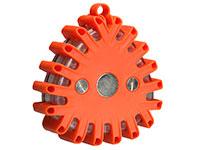 Velleman EFL27 - Luz de Segurança Intermitente com LEDs e Base Magnética - Vermelha