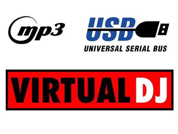 PDC-05 - Mesa de Mistura Controlador - Dual Virtual DJ