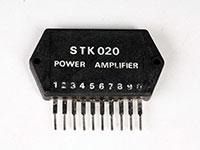 STK020 - Amplificador de Potencia Mono 13 W