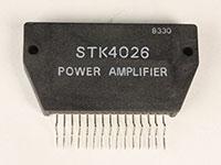 STK4026 - Amplificador de Potencia Mono 25 W