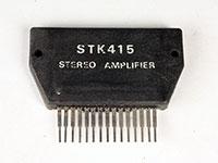 STK415 - Amplificador de Potencia Estereo 80 W