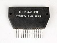 STK430 - Amplificador de Potencia Estereo 5 W
