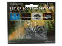 Ensemble de Transistors Variés - 100 unités - K/TRANS1