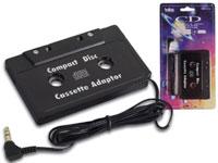 ADAPTADOR AUDIO DE CINTA PARA CD, MP3, ...