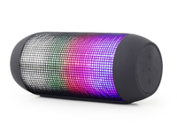 Wireless Bluetooth multimedia speakers with micro sd player, radio and light effect - SPK-BT-05