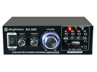 AV-360 - Amplificador Mezclador Megafonia