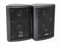 SKYTRONIC 100.016 - Set de 2 enceintes 2 voies 75 W 8 Ohms