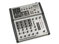Velleman PROMIX66N - Professional Mixing Table - 6 Channels - Reverb / Echo Digital