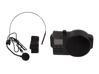 Portable public address system for conferences and exhibitions - Radio, USB port and SD card