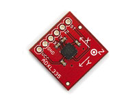 ADXL335 3-axis accelerometer - board-mounted - ± 3g