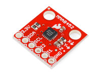 MMA8452Q 3-axis accelerometer - board-mounted