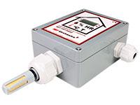 Sensor Humidade e Temperatura Industrial - com Display e Conetor Selado - HRT2402D