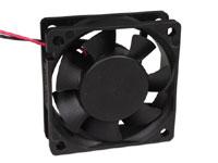 Ventilador Axial Casquillo 60 x 60 x 25 mm - 12 Vcc - KLD012PP060CSWS