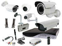 Cameras, CCTV and accessories