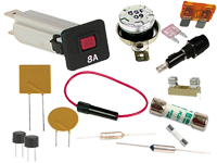 FUSIBLES, PORTAFUSIBLES, TERMOSTATOS, ...