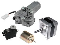 Motors and servo motors