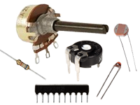 Resistors, potentiometers