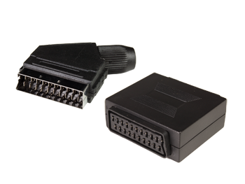 CONECTORES EUROCONECTOR (SCART, PERITEL)