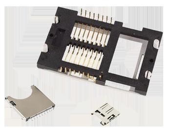 CONECTORES TARJETA SMART-CARD, SD, MICROSD, ...