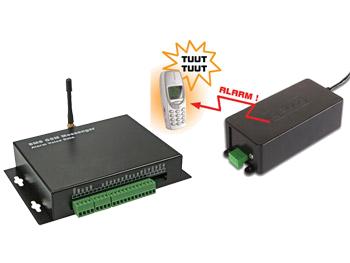SISTEMAS DE ALARMA Y/O CONTROL POR GSM, INTERNET