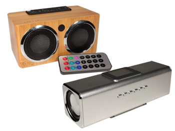 ALTAVOCES MULTIMEDIA CON REPRODUCTOR MP3
