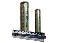 RAM rechargeable alkaline batteries