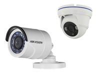 HD CCTV-Wired colour bullet cameras