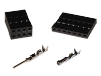 Non-polarized header connectors
