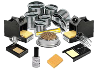 Soldering consumables and accesories