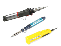 Gas-Battery Soldering Irons