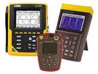 Electrical network analyzers