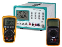 Capacitance and LCR meters