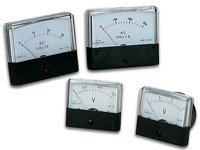 Analog voltmeters