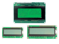 LCD alphanumeric modules