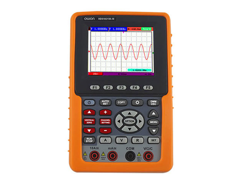 he OWON handheld oscilloscopes are 2 in 1 ...