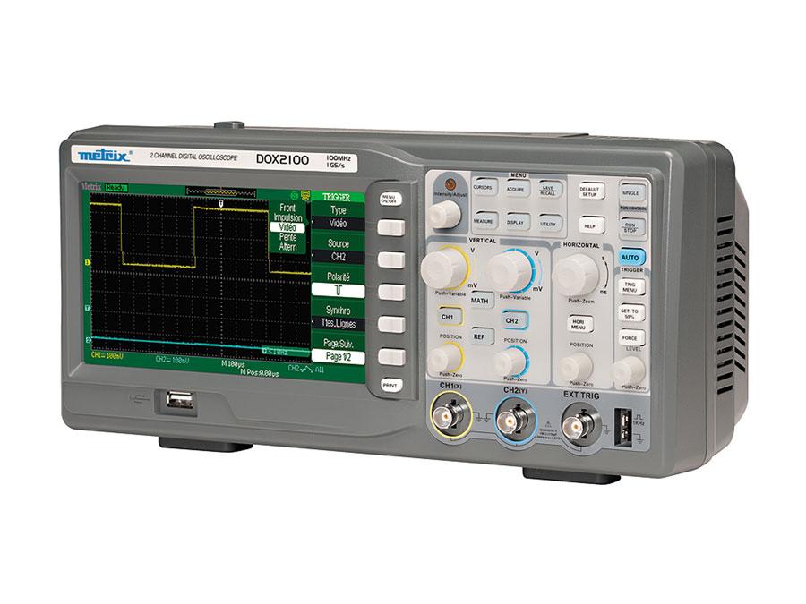 Oscilloscopes METRIX® Série DOX 2000